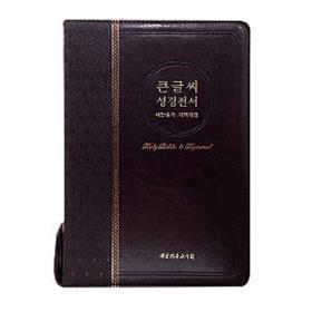개역개정 큰글씨 성경전서 NKR83BU (특대) - 다크브라운