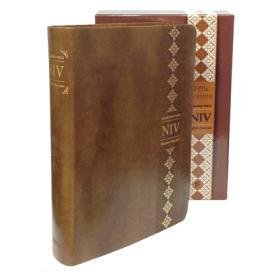 두란노 개역개정 NIV영한성경-브라운(중,단본,색인)