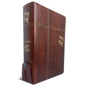 [개역개정] 큰글로 읽는 비전성경 (중/합본/색인)-다크브라운