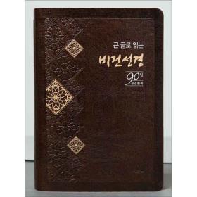 [개역개정] 큰글로 읽는 비전성경 (대단색) - 다크초코