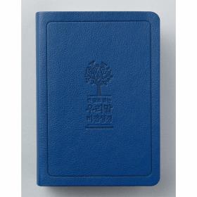 큰글우리말 비전성경 DKV1906 (소)단색 - 네이비(4판)