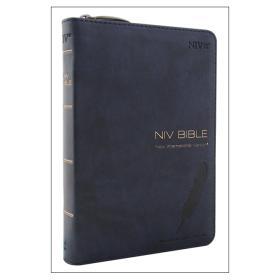 NIV BIBLE(바이블,성경)-네이비(소,단본,지퍼)
