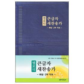 뉴 새찬송가 큰글 해설 멜로디(대/비닐)-청색