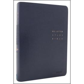 [개역개정] 큰글자 스터디성경(중/단본/색인/무지퍼)-네이비