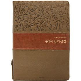 [개역개정] 굿데이 컬러성경 (중/합본/색인)-투톤브라운