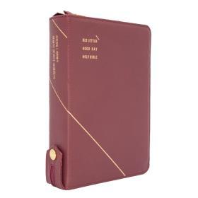 개역개정 큰글자 굿데이성경전서 NKR72WXU (중합본/색인) - 버간디 (천연가죽)