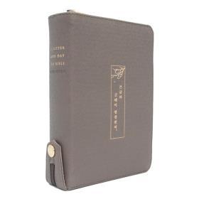 개역개정 큰글자 굿데이성경전서 NKR62EWXU (새찬/소/합색) - 모카그레이 (고급/양피)