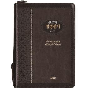 개역개정 성경전서 NKR73ESB (대/새찬송가/합색) - 초코