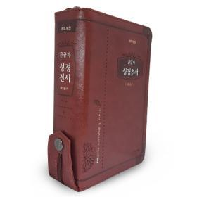[개역개정] 큰글자 성경전서(NKR62EAB/소/합색/해설찬송가) -브라운