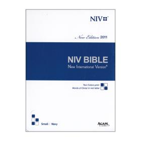 영문NIV (특소/단본/색인)-네이비