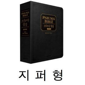 [개역한글/새찬송가] 프뉴마 성경 - 블랙 (합본/지퍼) (재정가)