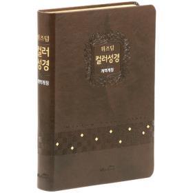 개역개정 컬러성경(대/단본/색인) - 초코