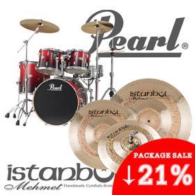[★한정수량★] Pearl Vision VBL Drum set + Istanbul Mehmet Sultan Cymbal set