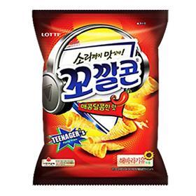 (185909)꼬깔콘 매콤한맛144g