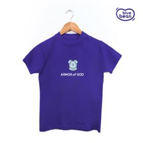 2018 블루빈 전신갑주 티셔츠-의의 흉배(퍼플)