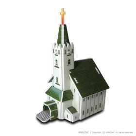 교회마을-은혜교회(입체퍼즐)