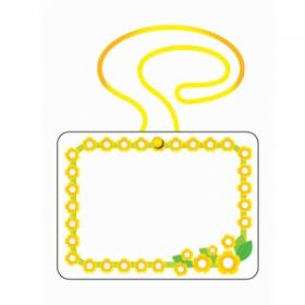 명찰목걸이 PP명찰-교사용-10개묶음