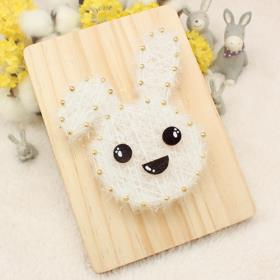 스트링액자(대) 만들기- 토끼