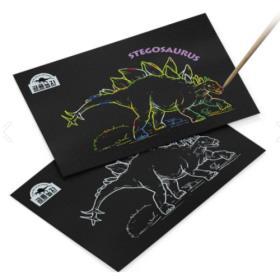 공룡 스크래치보드 (스테고사우루스)
