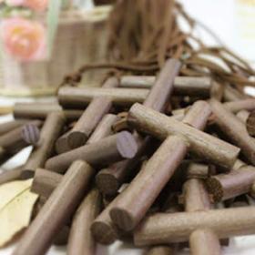 원형나무십자가 목걸이 (50개이상 단체)