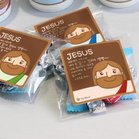 스티커 전도지_Smile Jesus (1000매,인쇄)