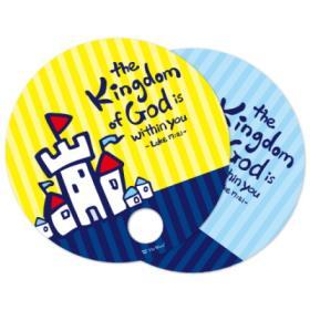 단체용 부채 _ Kingdom of God (1000개, 인쇄가능)
