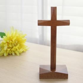 원목탁상십자가(2)