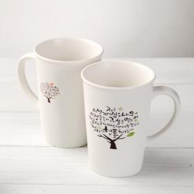 시냇가에 심은 나무 페이퍼머그 (머그컵)