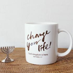 Change your life (발수,카페머그)
