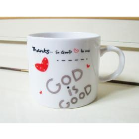 말씀머그컵-GOD IS GOOD