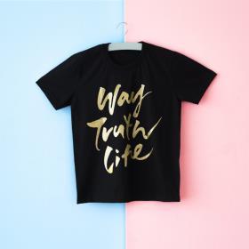 글로리월드 티셔츠 - 웨이티(골드메탈)
