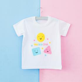 위아원 화이트 티셔츠