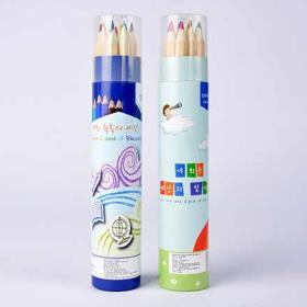 축복의 메세지가담긴 12색 색연필