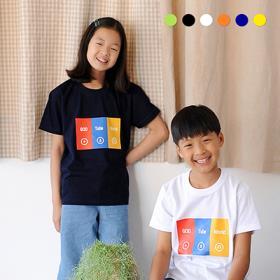2019교회단체티 GodTube World 3색 아동 여름성경학교