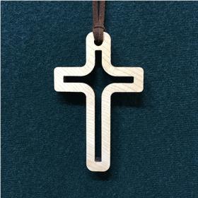 그리스도의 옷/나무 십자가 목걸이