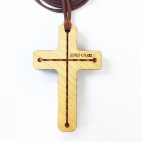 십자가의길/나무십자가목걸이