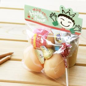 부활절 달걀 2구 사각택 20개 (비닐포함)_Kids(민트)