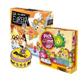 유아들을 위한 아이스브레이킹 3종(도블,픽미업,닥터유레카)