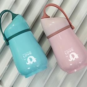마이제이디 코끼리 텀블러(핑크/파랑)350ml