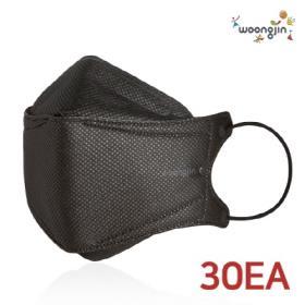 [웅진] KF94 미세먼지 마스크 블랙 30매