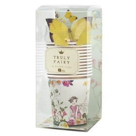 [순모임] 꽃의 요정 나비 장식 12개 종이컵 12개