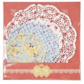 [순모임] 꽃무늬 도일리 페이퍼 - 블루