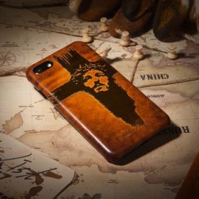 [안단테너리] 핸드폰가죽케이스 전기종가능 커스텀 풀커버 Jesus Christ (3807)