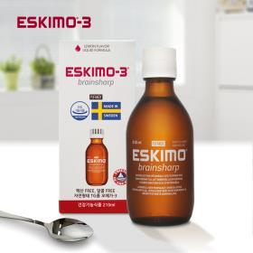 [무료배송/오메가3/액상] 에스키모-3 브레인샤프_기억력개선 (유통기한2020.7.1)