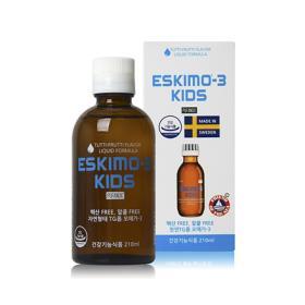 [무료배송/오메가-3] 에스키모-3 키즈 (투티프루티) 210ml 액상
