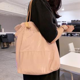 핑크 튤립 양면 백