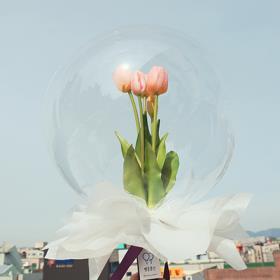 [꽃다발] 꽃다발풍선, 꽃풍선, 임직선물