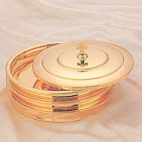 금 떡그릇 3단 1세트 (D-26호)