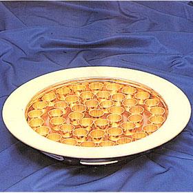 금 성찬기 밑판 1개-(THG-45호)