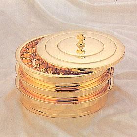 성찬기 3단 1세트 - 금도금 (D-45호)
